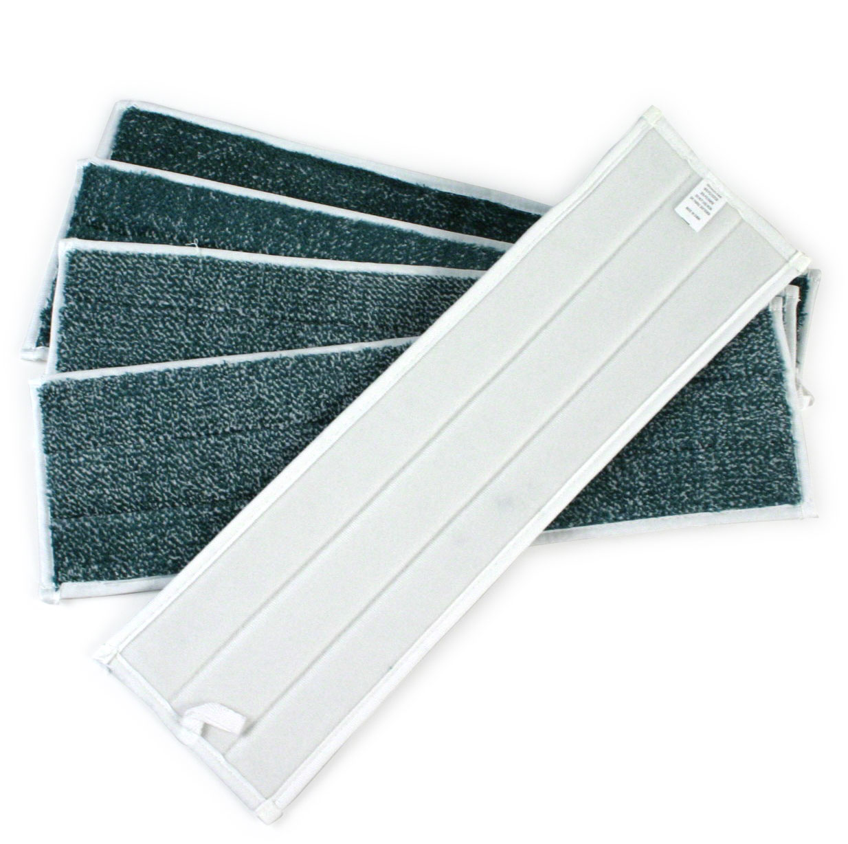 18-inch Microfiber Wax Pads - 5 Pack - Green