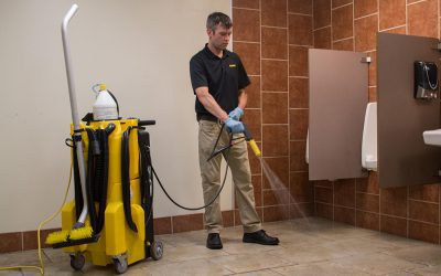 How No-Touch Restroom Cleaning Protects EVERYONE's Health