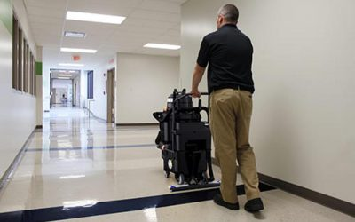 Hard-Surface Floor Cleaning in a Pinch