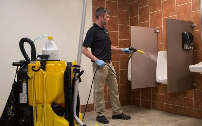 Clean Restrooms Better and Faster with No Touch