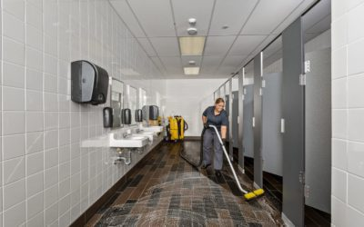 How to Clean Commercial Restroom Tile and Grout Floors